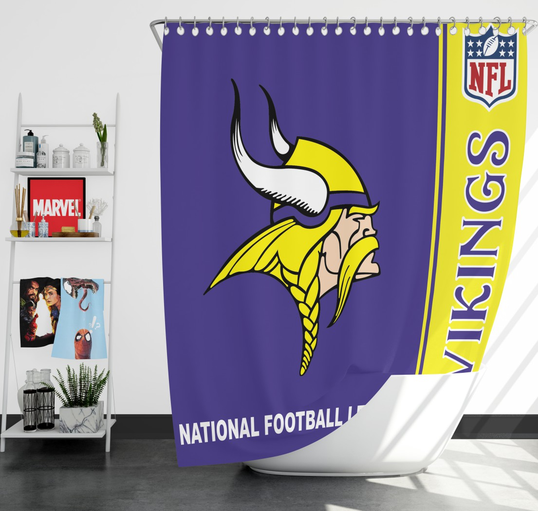 NFL Minnesota Vikings Shower Curtain