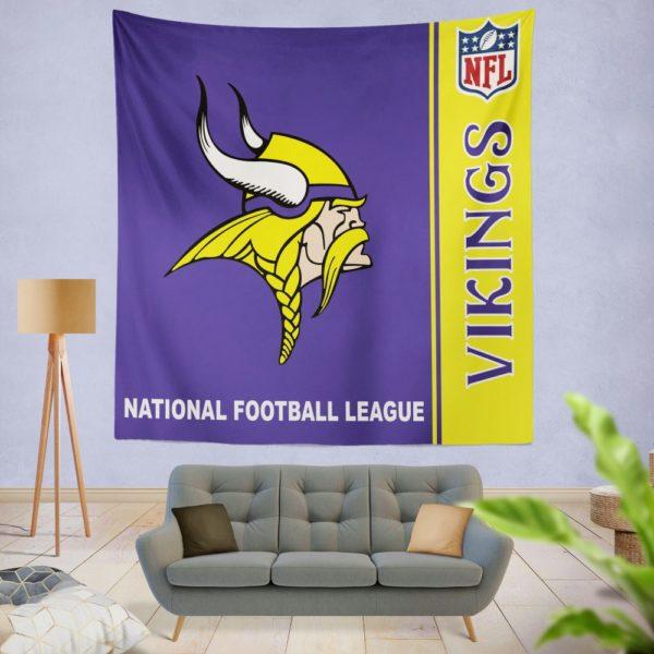 NFL Minnesota Vikings Wall Hanging Tapestry