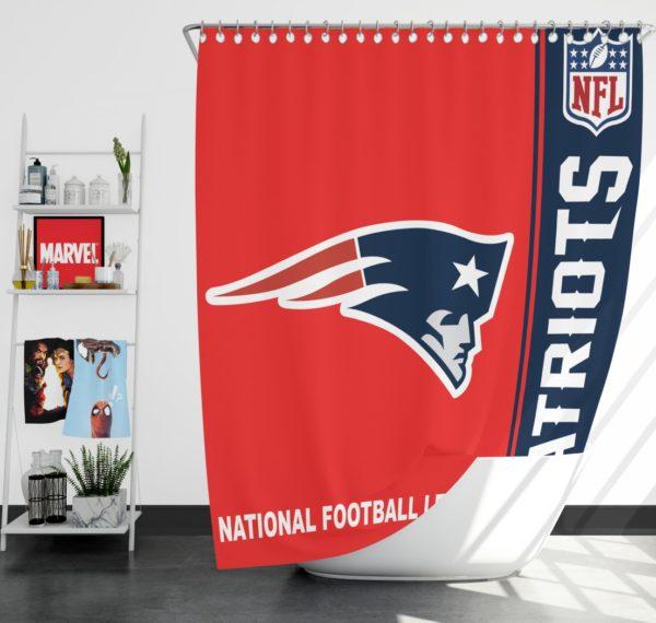 NFL New England Patriots Shower Curtain