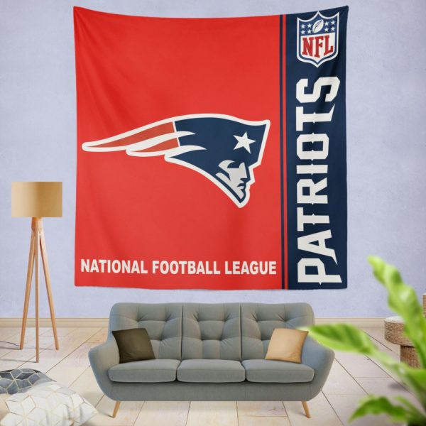 NFL New England Patriots Wall Hanging Tapestry