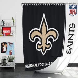 NFL New Orleans Saints Shower Curtain