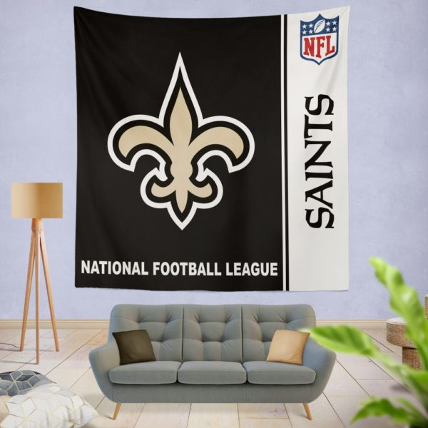 NFL New Orleans Saints Wall Hanging Tapestry