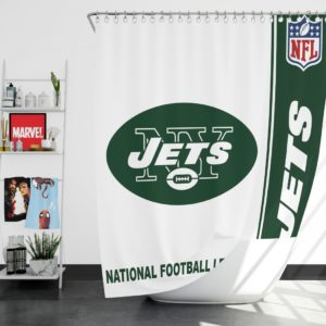 NFL New York Jets Shower Curtain