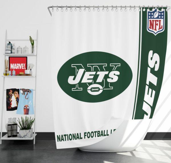 NFL New York Jets Shower Curtain