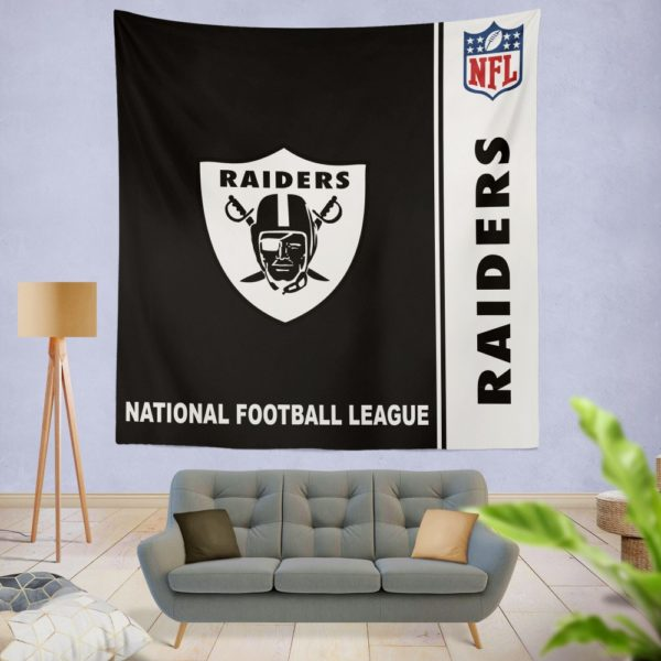 NFL Oakland Raiders Wall Hanging Tapestry