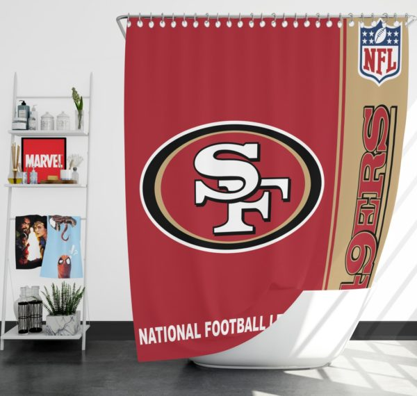 NFL San Francisco 49ers Shower Curtain