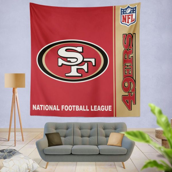 NFL San Francisco 49ers Wall Hanging Tapestry