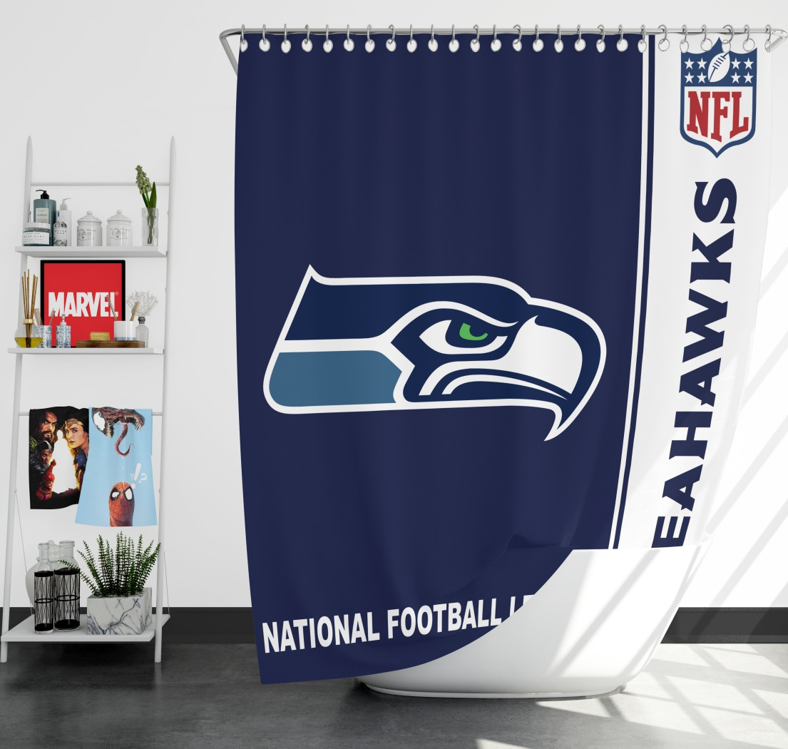 NFL Seattle Seahawks Shower Curtain