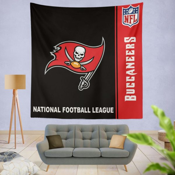 NFL Tampa Bay Buccaneers Wall Hanging Tapestry