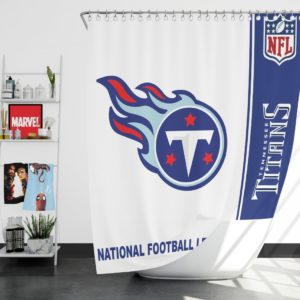 NFL Tennessee Titans Shower Curtain