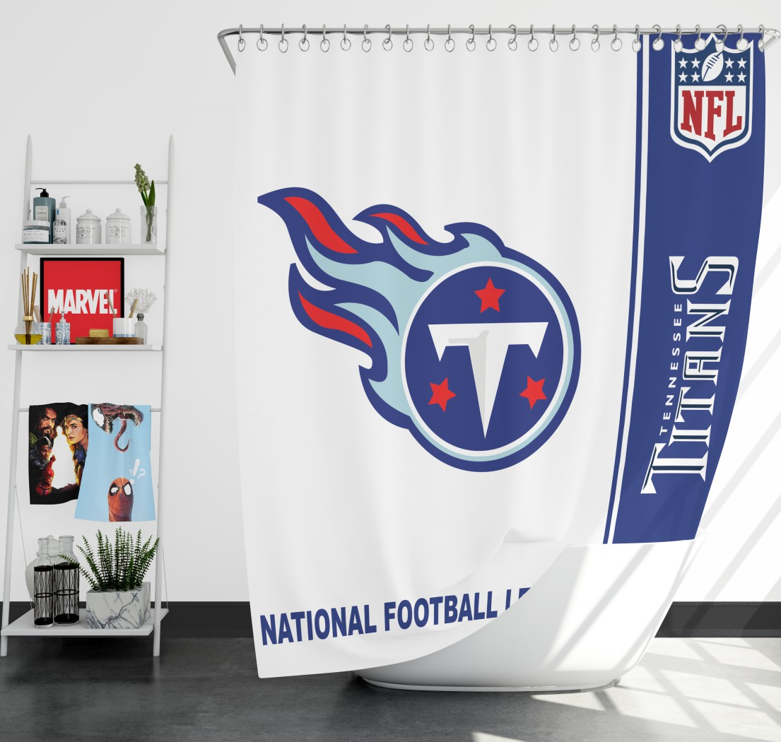 5f02b1ea NFL Tennessee Titans Shower Curtain