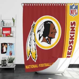 NFL Washington Redskins Shower Curtain