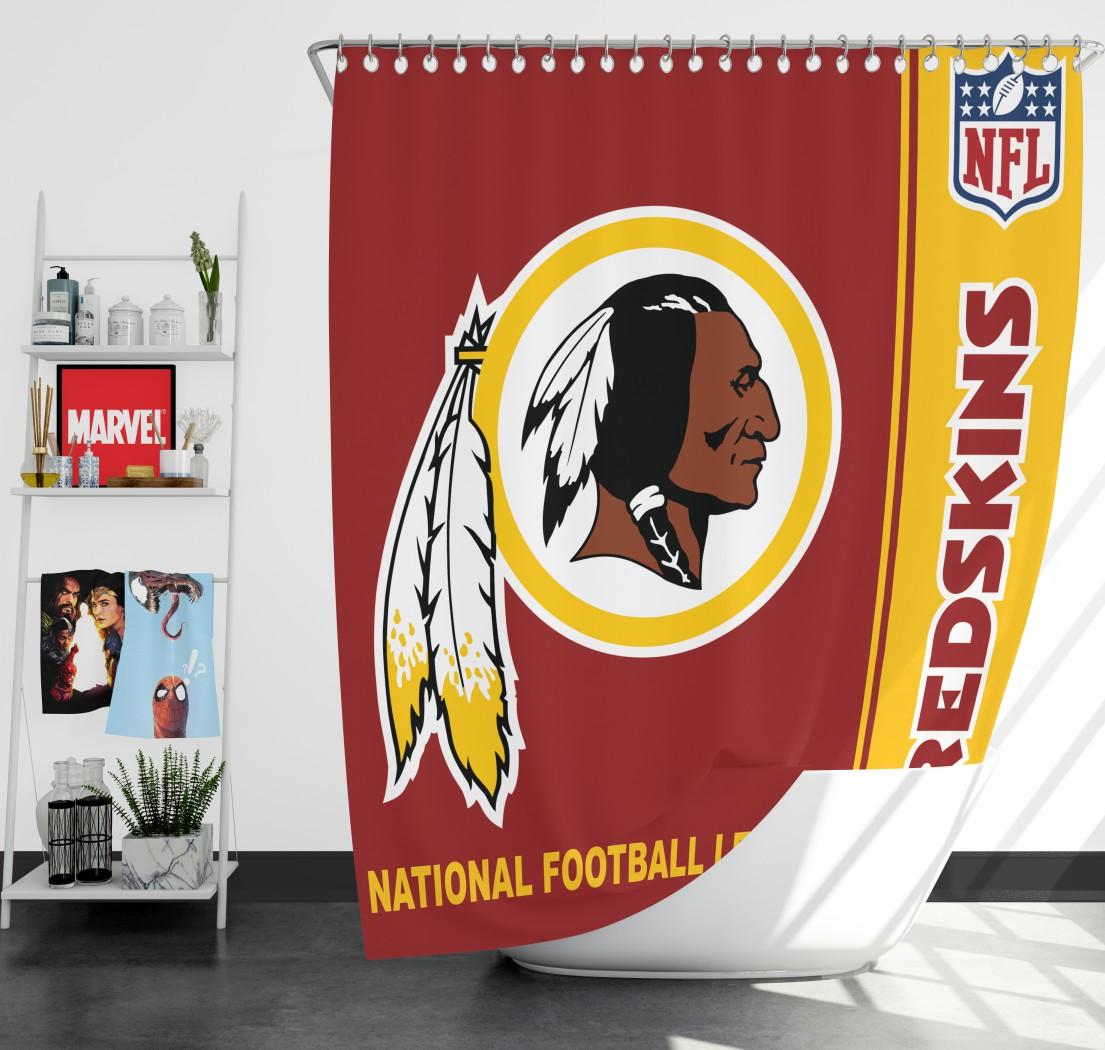 NFL Washington Redskins Shower Curtain