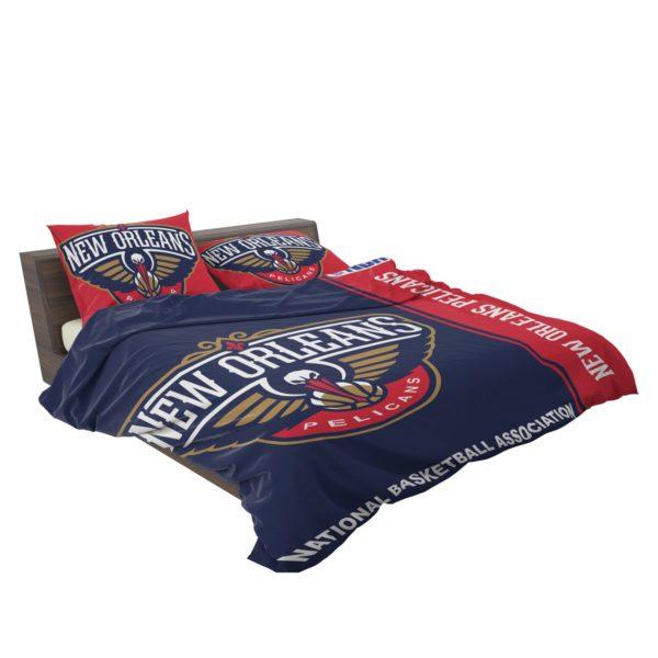 New Orleans Pelicans NBA Basketball Bedding Set 3