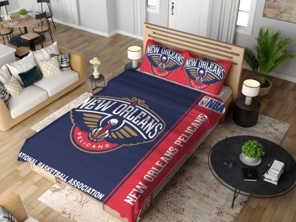 New Orleans Pelicans NBA Basketball Bedding Set 4