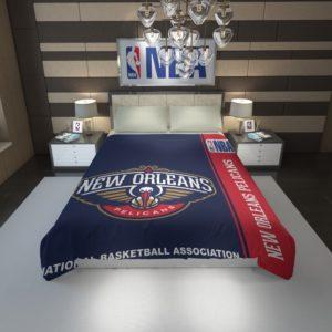 New Orleans Pelicans NBA Basketball Duvet Cover 1