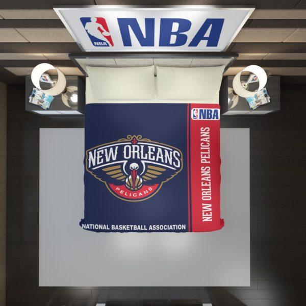 New Orleans Pelicans NBA Basketball Duvet Cover 2