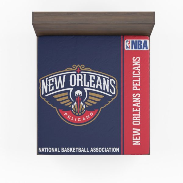 New Orleans Pelicans NBA Basketball Fitted Sheet