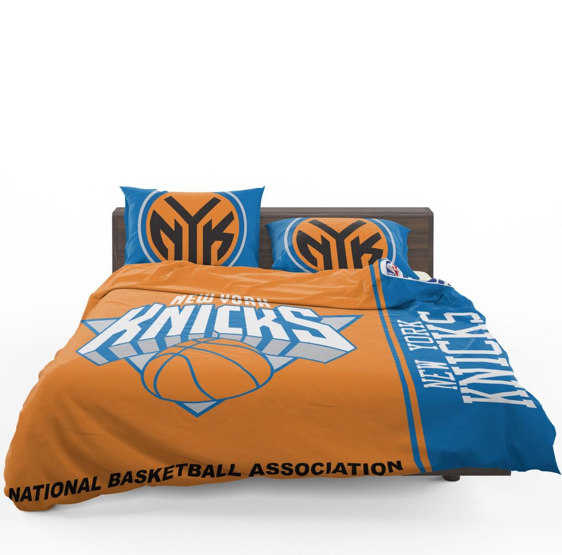 Nba Basketball New York Knicks: New York Knicks NBA Basketball Bedding Set