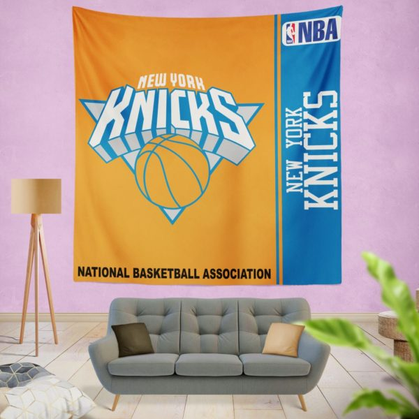 New York Knicks NBA Basketball Bedroom Wall Hanging Tapestry