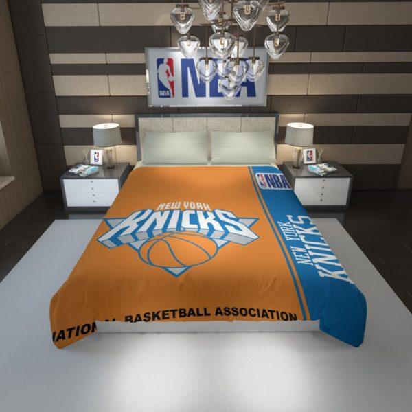 New York Knicks NBA Basketball Duvet Cover 1
