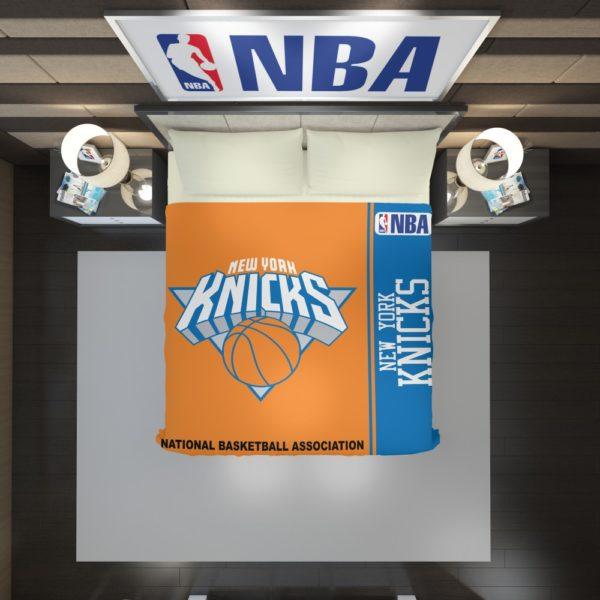 New York Knicks NBA Basketball Duvet Cover 2