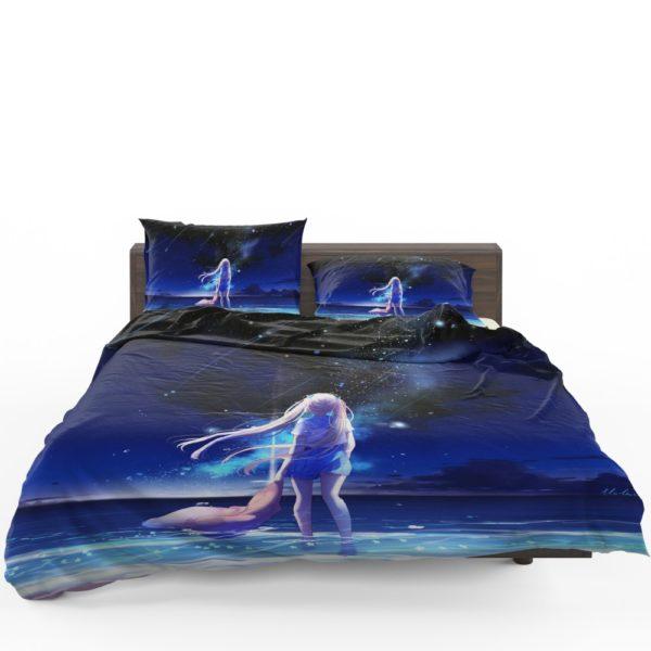 Night Sea Blue Beach Bedding Set 1