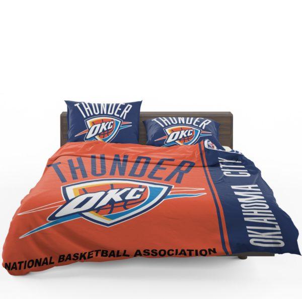 Oklahoma City Thunder NBA Basketball Bedding Set 1