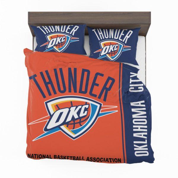 Oklahoma City Thunder NBA Basketball Bedding Set 2
