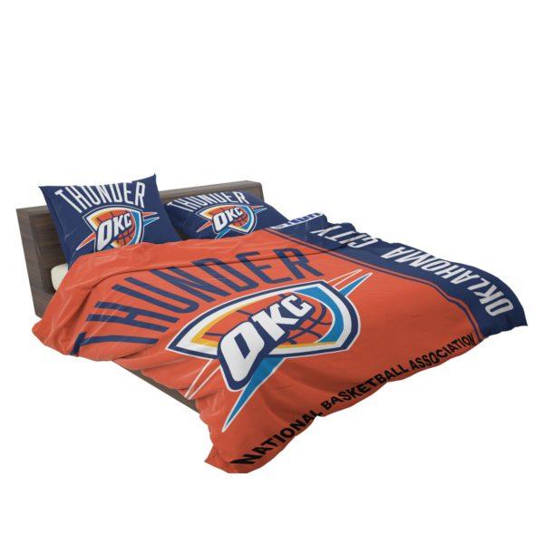 Oklahoma City Thunder NBA Basketball Bedding Set 3
