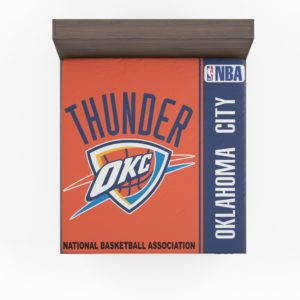 Oklahoma City Thunder NBA Basketball Fitted Sheet