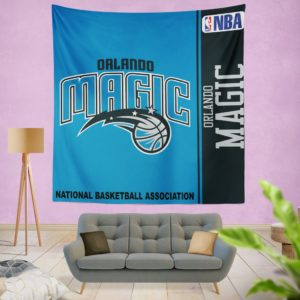 Orlando Magic NBA Basketball Bedroom Wall Hanging Tapestry