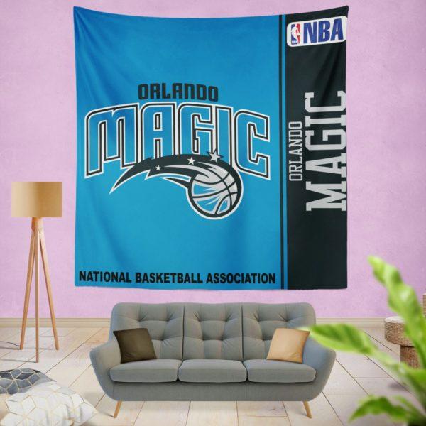 Orlando Magic NBA Basketball Bedroom Wall Hanging Tapestry