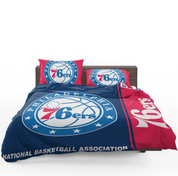 Philadelphia 76ers NBA Basketball Bedding Set 1