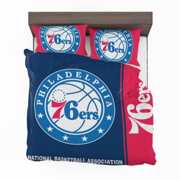 Philadelphia 76ers NBA Basketball Bedding Set 2