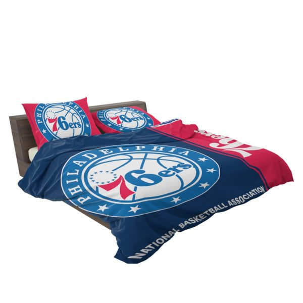 Philadelphia 76ers NBA Basketball Bedding Set 3