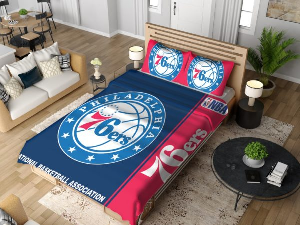 Philadelphia 76ers NBA Basketball Bedding Set 4