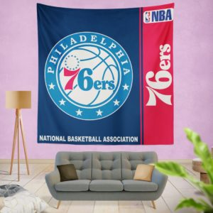 Philadelphia 76ers NBA Basketball Bedroom Wall Hanging Tapestry