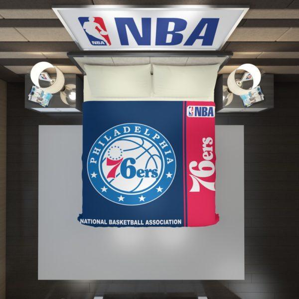 Philadelphia 76ers NBA Basketball Duvet Cover 2
