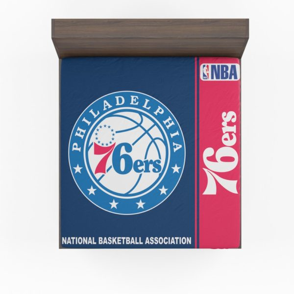Philadelphia 76ers NBA Basketball Fitted Sheet