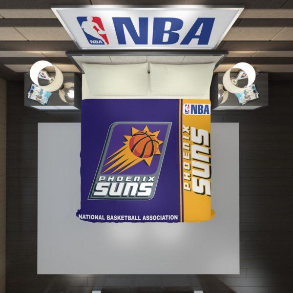 Phoenix Suns NBA Basketball Duvet Cover 2