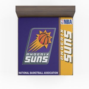 Phoenix Suns NBA Basketball Fitted Sheet