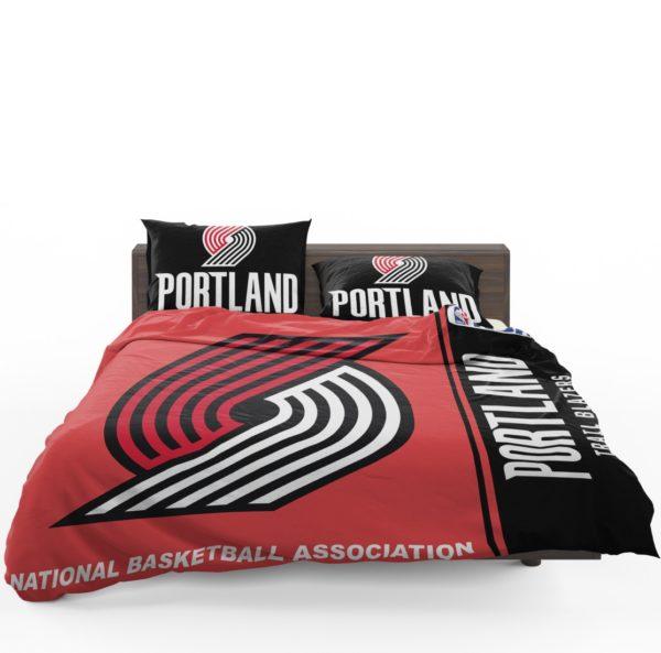Portland Trail Blazers NBA Basketball Bedding Set 1