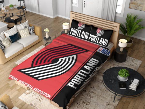 Portland Trail Blazers NBA Basketball Bedding Set 4