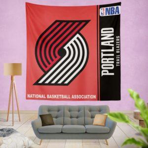 Portland Trail Blazers NBA Basketball Bedroom Wall Hanging Tapestry