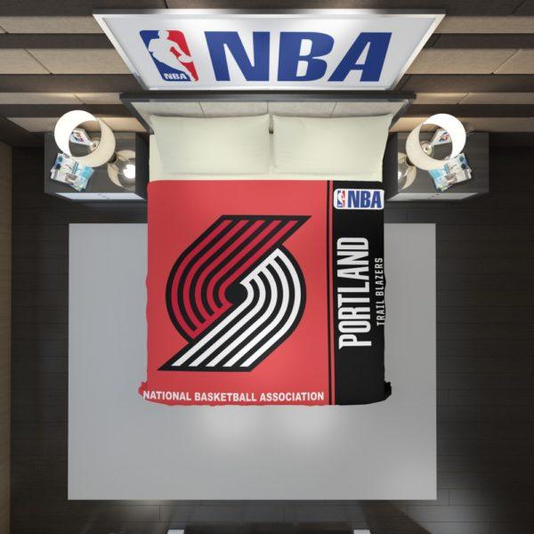 Portland Trail Blazers NBA Basketball Duvet Cover 2