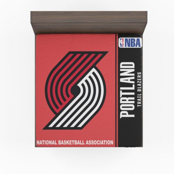 Portland Trail Blazers NBA Basketball Fitted Sheet