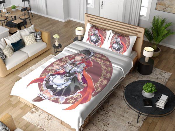 Ruby Rose Anime Girl Rwby Cute Anime Bedding Set 4