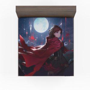 Ruby Rose Rwby Custom Anime Fitted Sheet