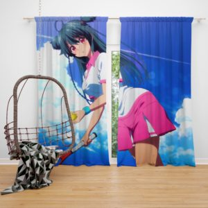Ruru Musaigen No Phantom World Anime Bedroom Window Curtain